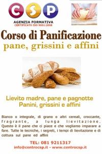 Corso di Panificazione pane, grissini e affini